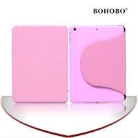 2014 U view standing flip PU cover cases for ipad 5