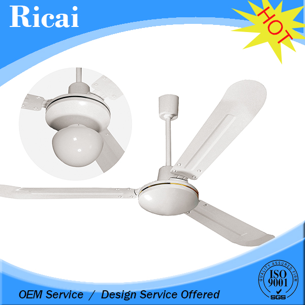 Speed Adjustable Tilt and Height raw material ceiling fan and light