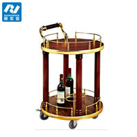 wine and liquor cart/wine cart wheels