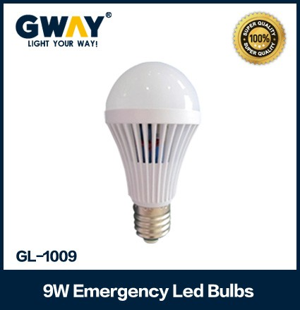 9W rechargeable LED light Bulb use 18SMD