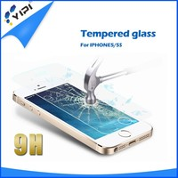 Hot Selling!!! 2.5D 9H Full Cover Tempered Glass Screen Protector For Iphone 5, Premium Tempered Glass Screen ~