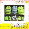 Low price plastic cartoon toy for kids soft plastic BB call funny small gift wholesale