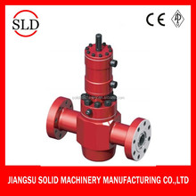 Good quality hand control hydraulic slab gate valve