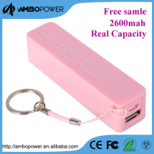 new innovation of easy-carrying smart apperance colourful power bank with built-in intelligent identification chips