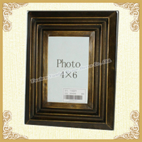 Mini picture frames-vintage brown