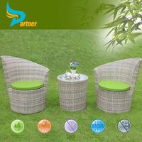 Asian Style Design Wicker Rattan Sofa Outdoor Furniture and Garden Sunroom Furniture Sets