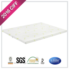 soft polyester talalay latex mattress topper