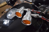 retro Amber Mini Bullet Turn Signal lights for yamaha motorcycle/for harley