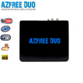fta satellite receiver android dvb s2 Azfree DUO tocomfree with iptv,free iks sks for south america