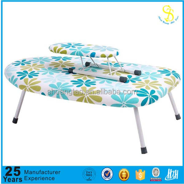 Desktop ironing board/Mini folding iron/ plastic sleeve ironing board(Guangzhou)