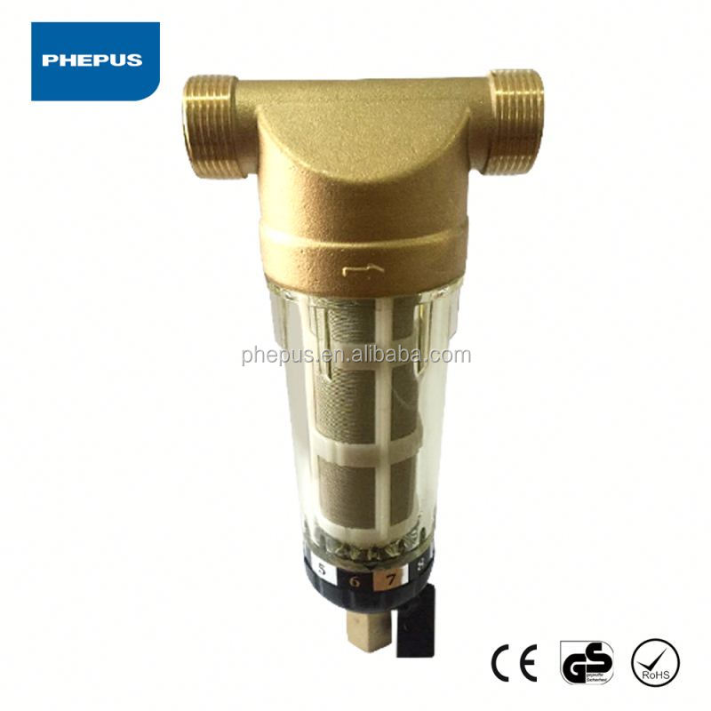 Domestic stainless steel screen sediment sand water filter/prefilter/pre-filter