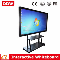 Quality LCD interactive whiteboard OPS PC Android Dual OS for video conference education teaching