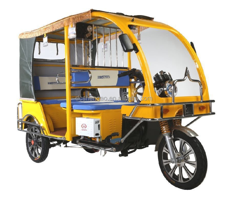 3 persons tricycle/new model india auto rickshaw/battery three wheel bike