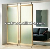 sell 4-12mm thick glass panel for room divider high quality glass divider