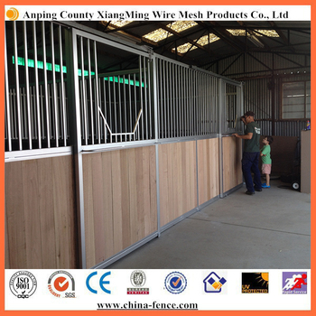 3.6x3.6x2.2m portable horse stable stall panel house