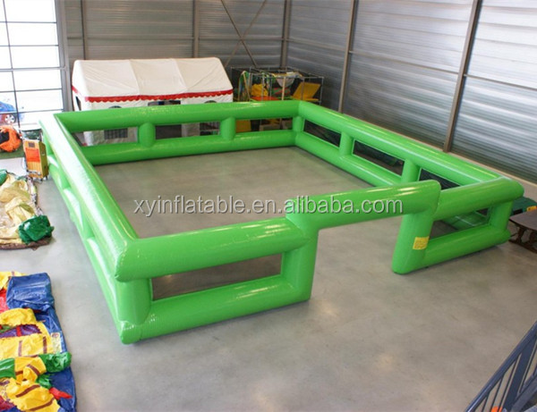 bespoke inflatable play boarding green color