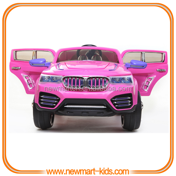 Deluxe Purple Battery Operated Kids Electric Car R/c Toy ...