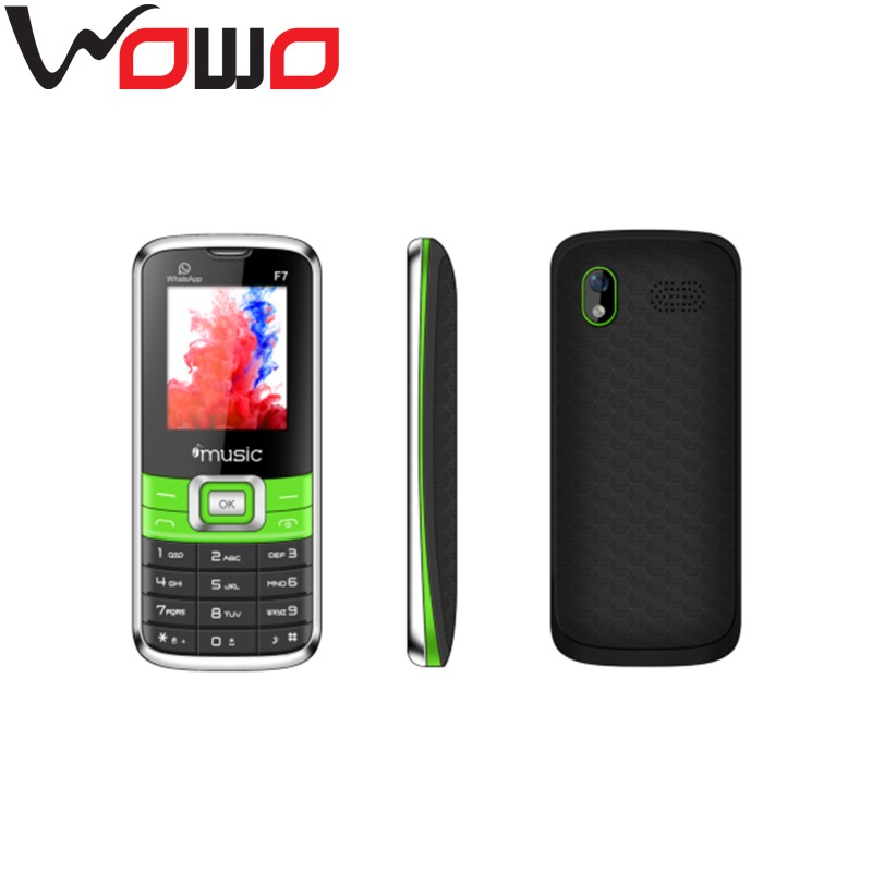 F7 Cellular Phone - 1.8 Inch Display, Dual SIM Quad Band Support, Camera, LED