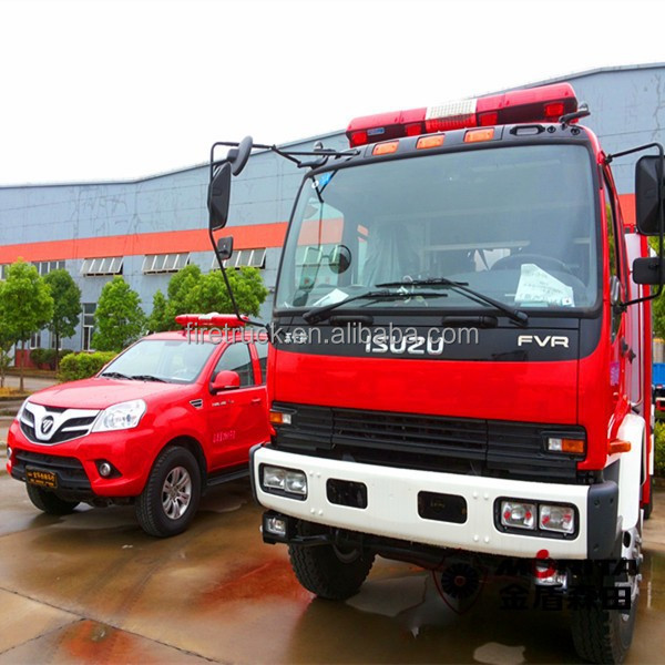 China fire commander truck for sale, Emergence Rescue Vehicles