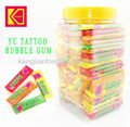 YC Tattoo Bubble Gum