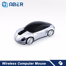 Shenzhen Manufacturer 2.4Ghz Cordless 3D Car Shape USB Mouse