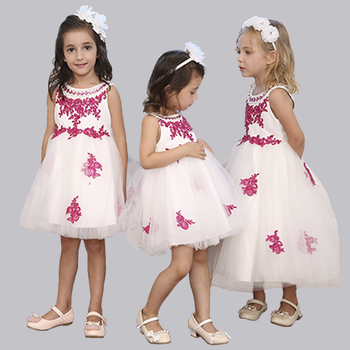 New arrival ! elegant baby girls long dress
