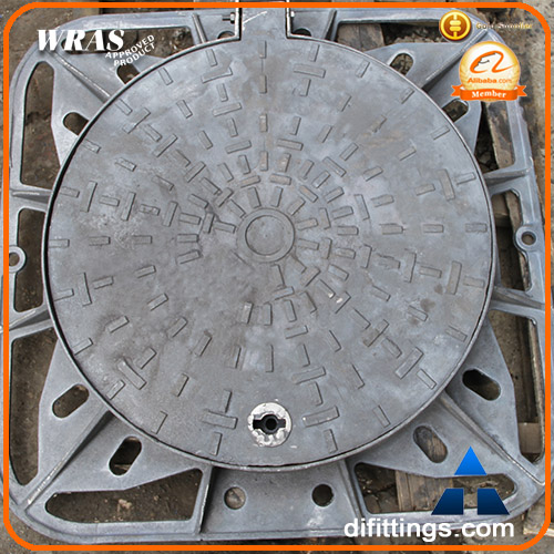 BS EN124 ductile manhole cover foundry