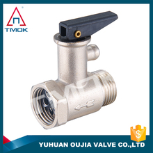 "1/2"" pressure relief safety valve with reducing forged male female BSP single valve /heater for gas"