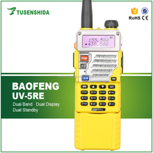 FM transceiver BAOFENG BF-UV5RE dual band vhf/uhf two way radio