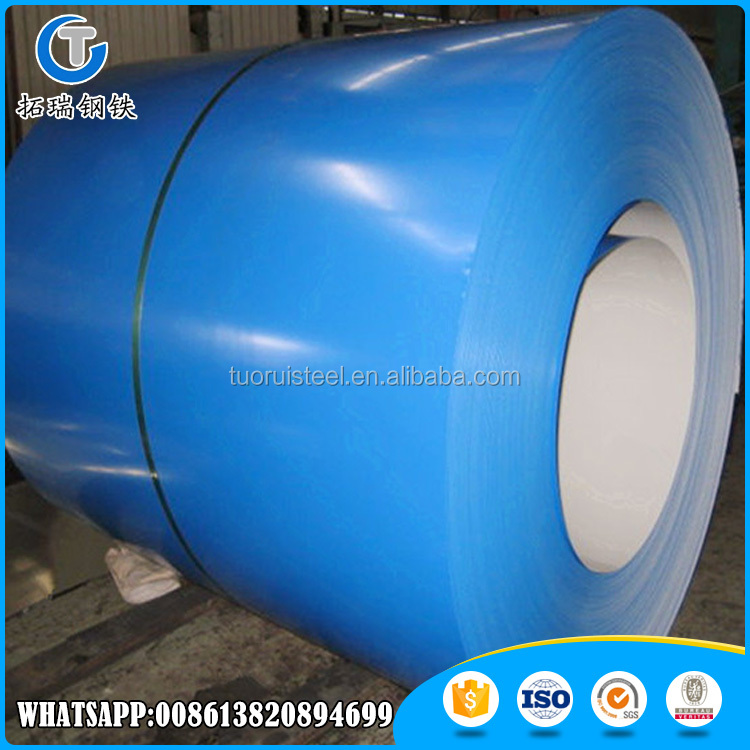 Color Coted Steel In Coil Ppgi/Ppgl(Prepainted Galvalume Steel Coil Az150)
