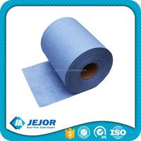 KIM-X80 Disposable Embossed Blue Cleanroom Cleaning Rags Roll
