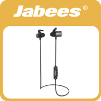 Jabees Newest Dual Mic Wireless Stereo Bluetooth Headphone Rechargeable Mini Hearing Aid