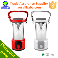 high quality all in one rechargeable solar energy lighting lantern
