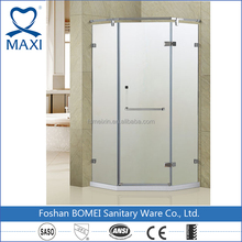 MAXI bathroom glass shower door shower cabin with door hinge diamond shower enclosure steam cabin
