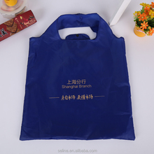 Seline promotional recyclable bag hs code nylon foldable tote bag