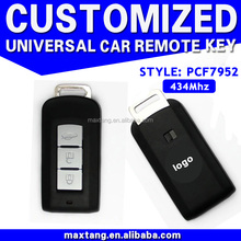 3 Button Smart Key Remote for Mitsubishi Outlander 434MHz with Chip ID46 PCF7952 MTF-101900