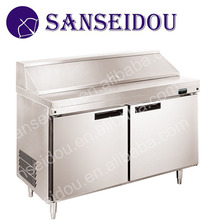 R8002-1 Commercial stainless steel freestanding salad prep refrigerator for sale