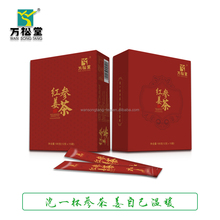 Hot sale organic instant ginseng ginger tea herbal tea for slimming
