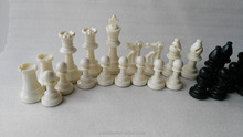 standard chess pieces with extra queen