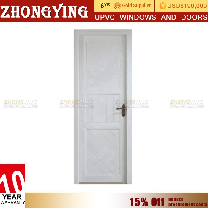 Direct Manufacturer Oem Double And Single Leaf Fancy Pvc Flush Door