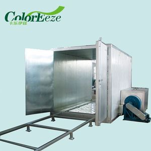 Durable Design Industrial Gas Powder Coat Curing Ovens