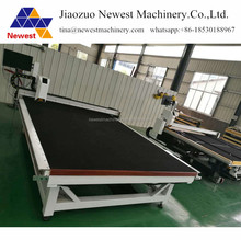 High quality hot selling tempered glass making machine ,cutting table for glass ,toughened glass cutting machine