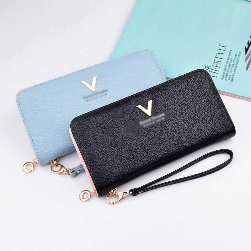 489c6eff123dd8 2019 beste verkauf mode bunte weiche dame lange brieftasche weibliche  großhandel custom frau günstige brieftasche