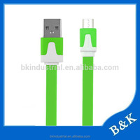 European hot sale mobile phone accessories right angle micro usb cable