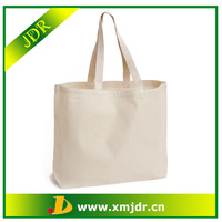 Wholesale Blank Standard Size Canvas Tote Bag
