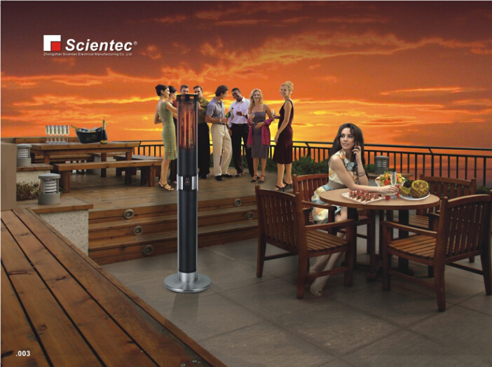 Scientec Electric Pool Heater With Tip-over Protection SH20140HR-2