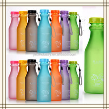 500ml 600ml Plastic BPA Free Water Bottle Colorful Portable Soda Bottle