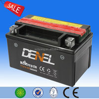 Strong Power Performance Motorcycle Battery scooter parts of batteries suppliers with chinese motorcycle brand