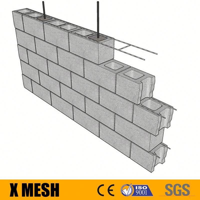 Galvanised steel wire Truss Mesh reinforcement for structural reinforced