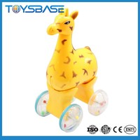 Cartoon wholesale bulk plastic deer toy with EN71